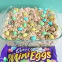 Mini Egg Rice Krispies Treats