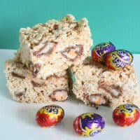 Creme Egg Rice Krispies Treats
