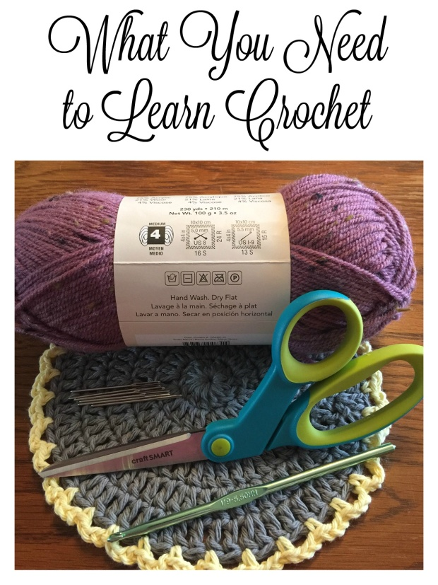What You Need to Learn Crochet