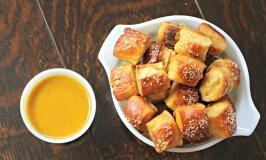 Chewy Pretzel Bites Recipe