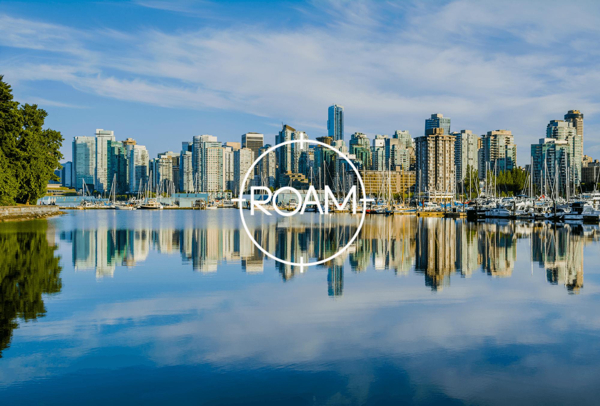 vancouver-skyline-with-roam-logo