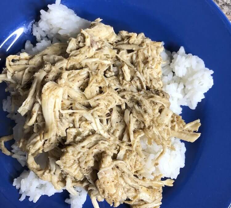 Slow-Cooker-Mexican-Ranch-Chicken-over-rice-750x675