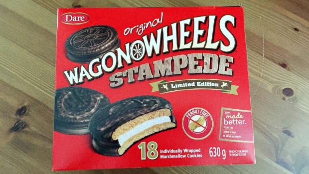 Dare Wagon Wheels Stampede Cookies