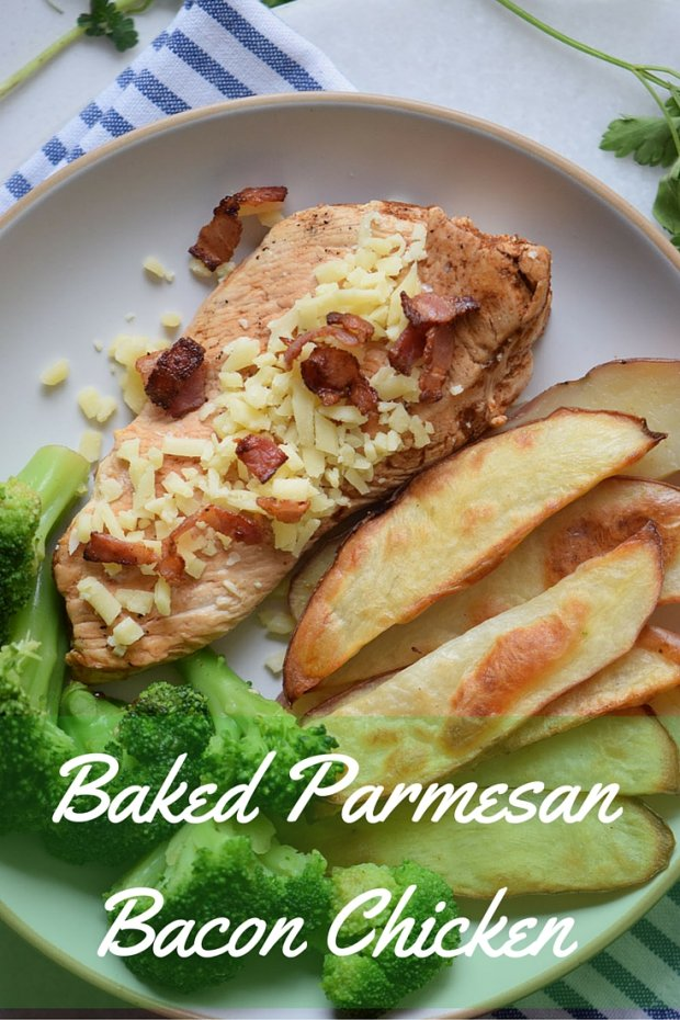 Bacon Parmesan Baked Chicken Recipe