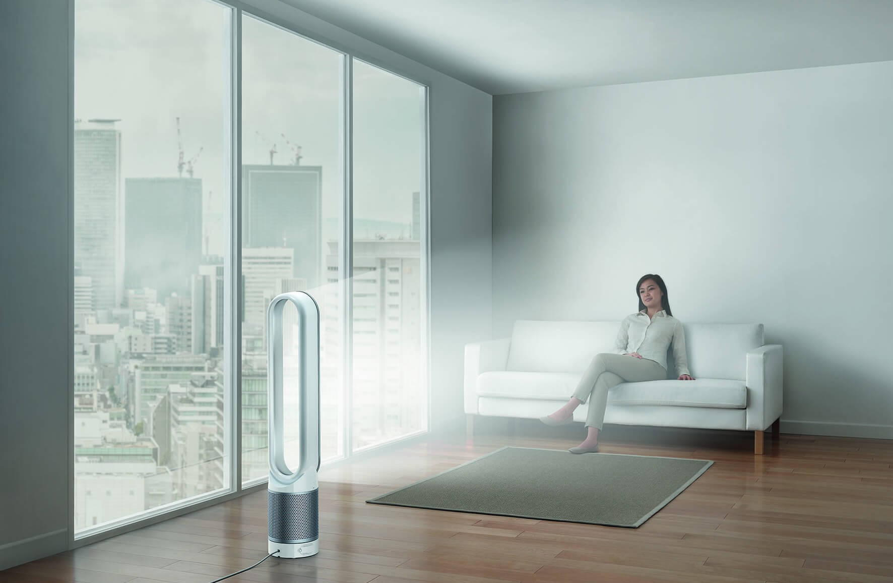 Pure Cool Link Tower - Living Room - City HR