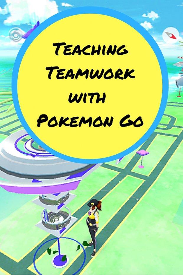 Teaching Teamwork with Pokemon Go