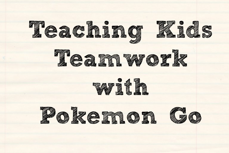 Teamwork with Pokemon Go
