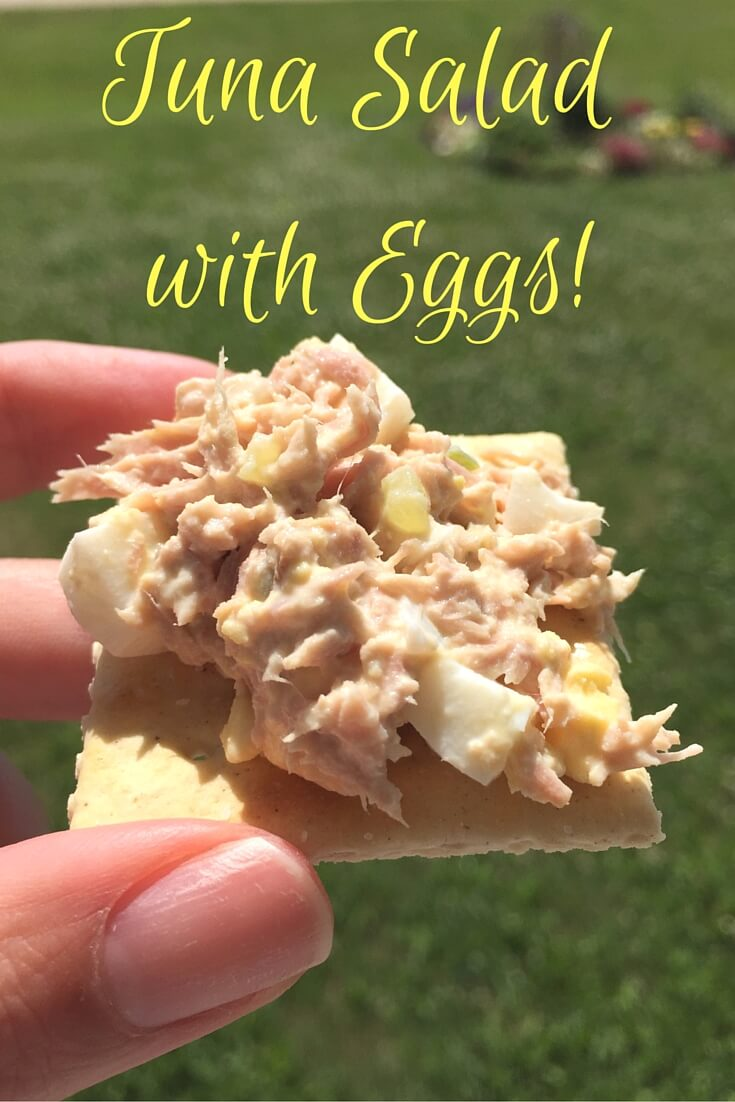 Tuna Salad with Eggs!