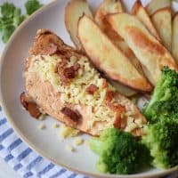 Bacon Parmesan Baked Chicken