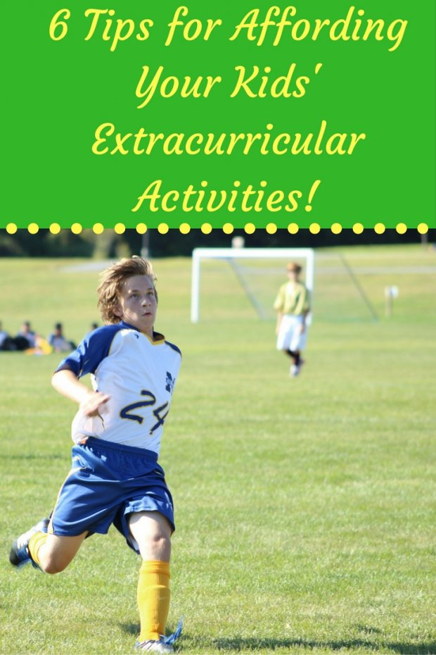 6 Tips for Affording Extracurricular Activities!