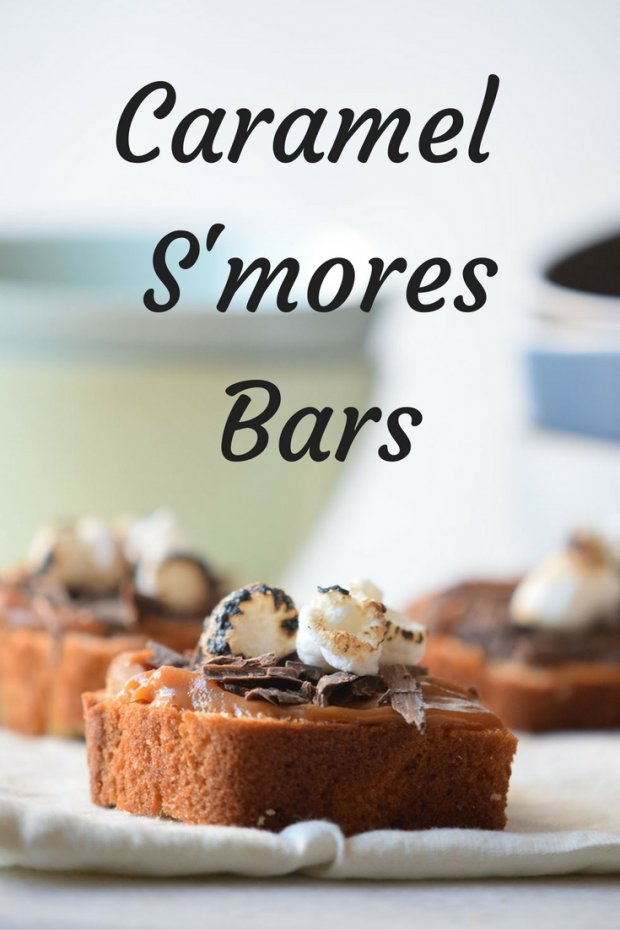 Caramel S'mores Bars Recipe. Chocolate, Caramel and Marshmallows make this a sweet treat you will make again and again.