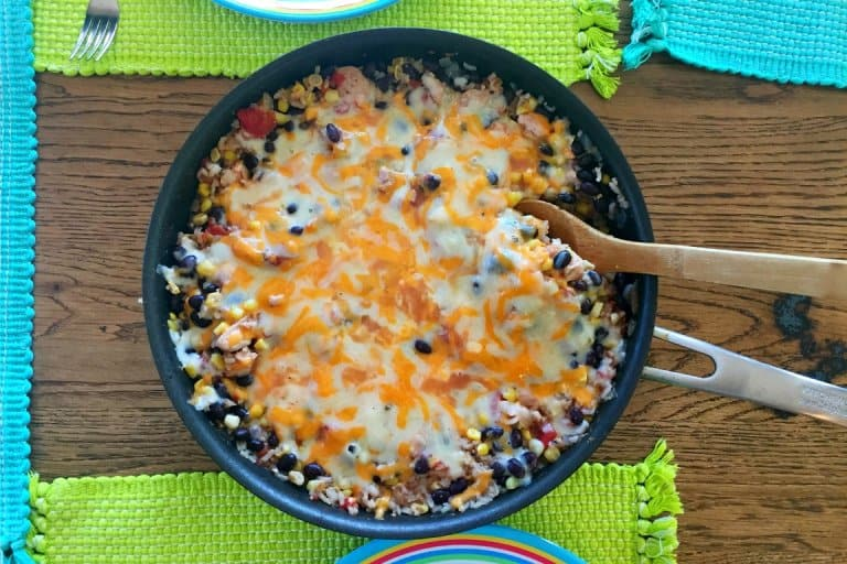 Chicken Burrito Skillet Recipe – A One Pan Meal