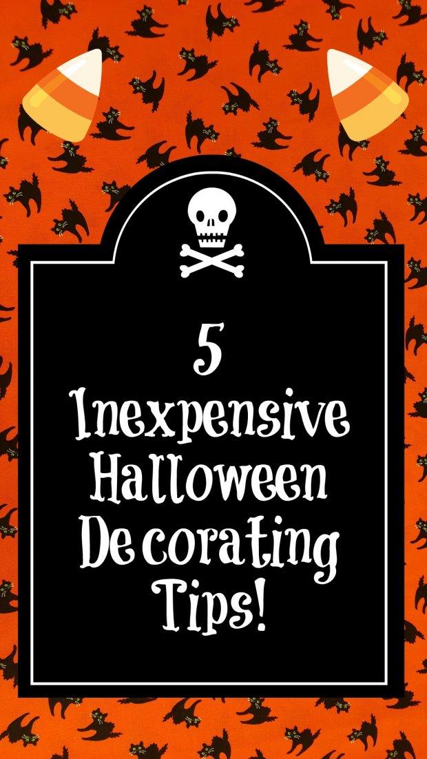 inexpensive halloween decorating tips - Inexpensive Halloween Decorations
