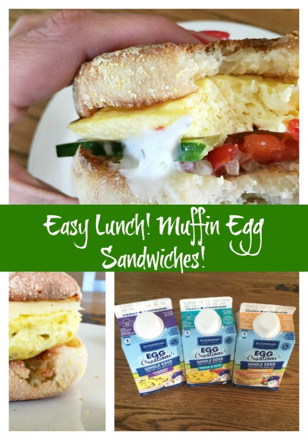 Muffin Egg Sandwiches