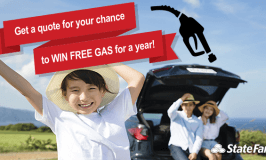 Win Free Gas for A Year from State Farm Canada