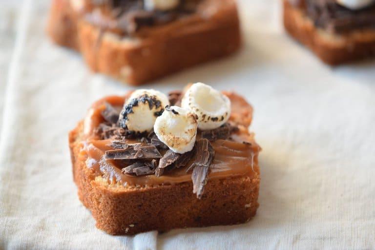 Caramel S'mores Bars Recipe