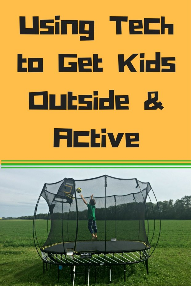 Using Tech to Get Kids Outside & Active