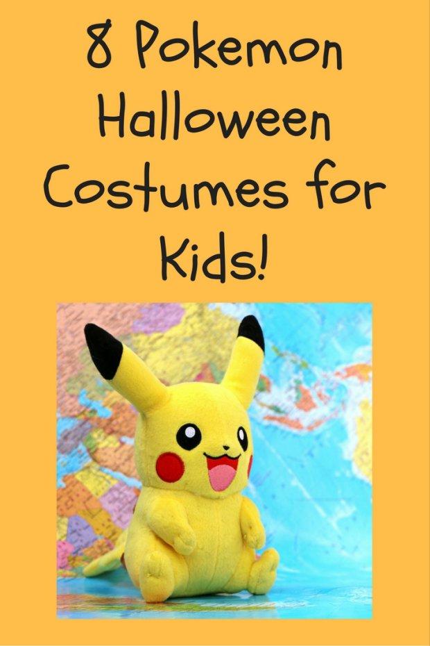 8 Pokemon Costumes for Kids