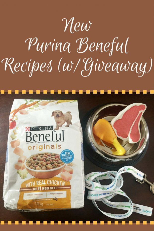 Purina Beneful has new recipes with Meat as the first ingredient! Perfect for your favorite pup!
