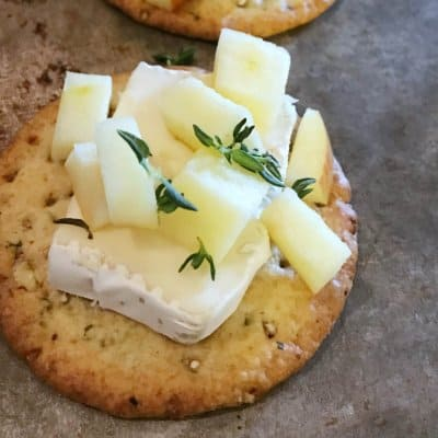 brie-apple-and-thyme-melts