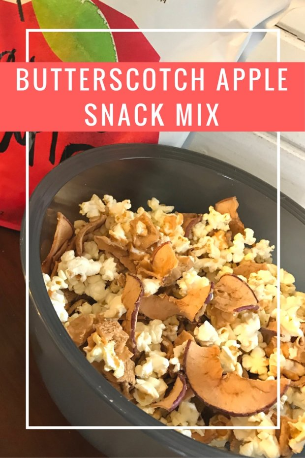 Butterscotch Apple Snack Mix. An easy and yummy afternoon snack.