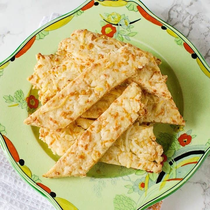 Savoury Cheese Straws