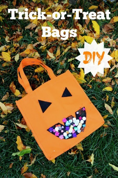 DIY Halloween Treat Bag Craft