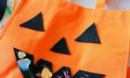 DIY Halloween Treat Bag Craft