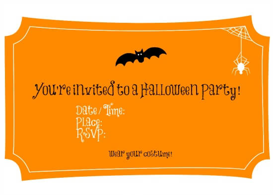 Free Halloween Printables – Perfect for a Party!