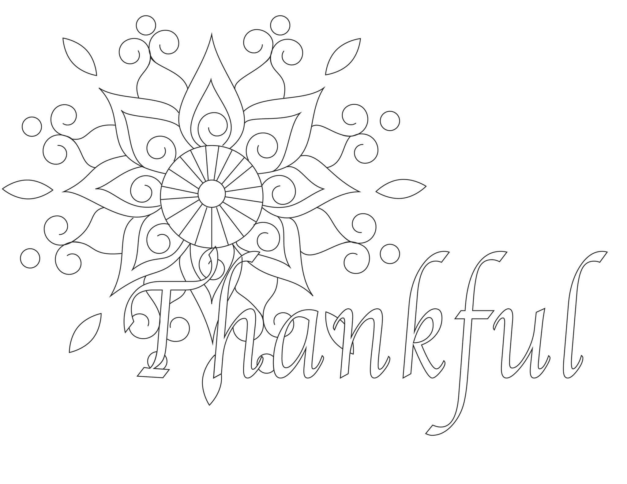 Free Printable Thanksgiving Coloring Pages Merry About Town