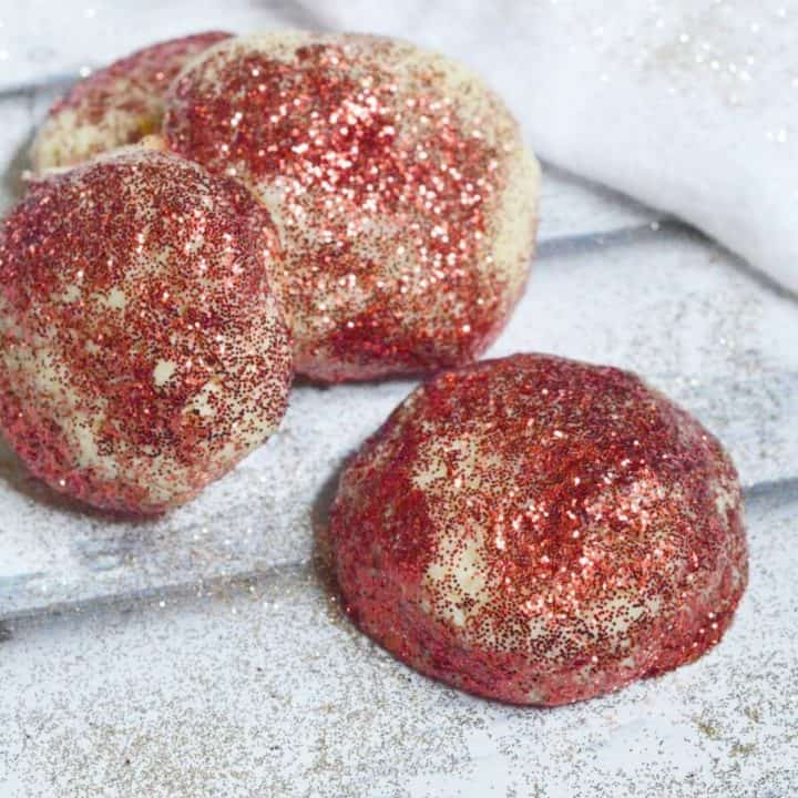 Glittery Fun Christmas Cookies