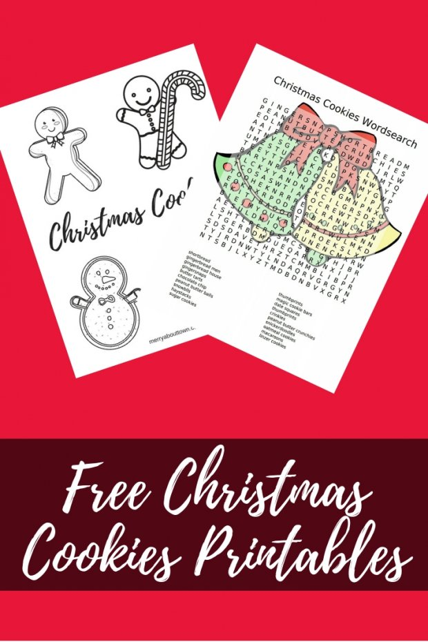 Free Christmas Cookies Printables