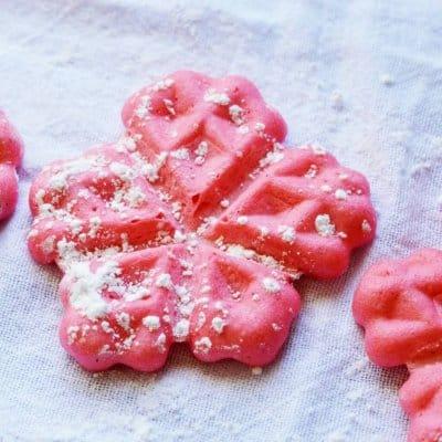 belgian waffle cookie recipe