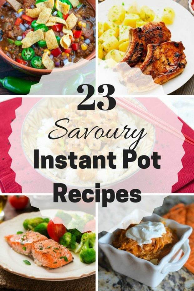23 Savoury Instant Pot Recipes to Try
