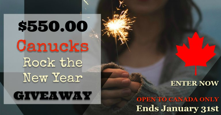Canucks Rock the New Year Cash Giveaway!