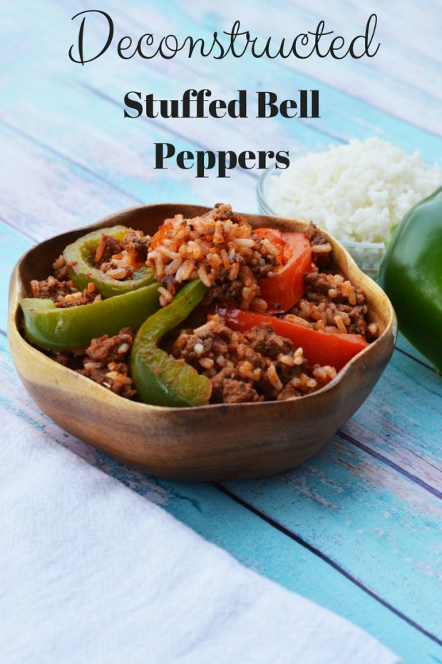 Deconstructed Stuffed Bell Peppers