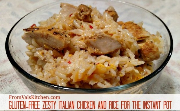 Gluten-free Zesty Italian Chicken And Rice