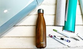 Water Bottle Step-By-Step Cricut Tutorial