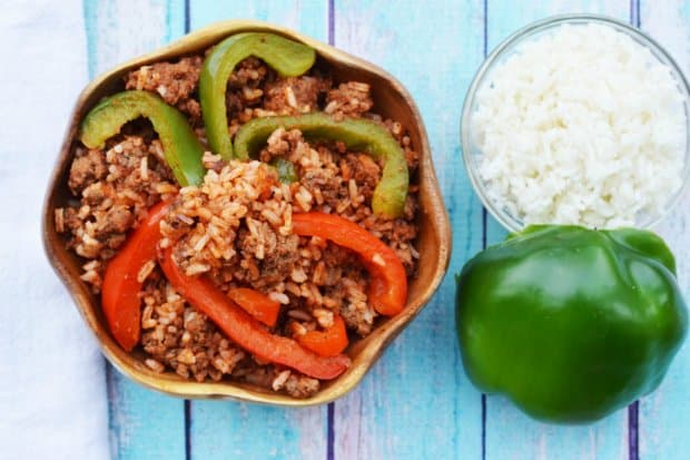 Stuffed Bell Peppers Skillet
