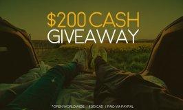 Spring $200 CAD Cash Giveaway Open Until 3/13 Worldwide