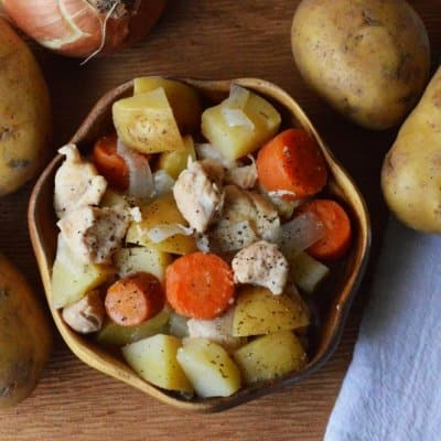 CrockPot Chicken Ranch Stew Recipe