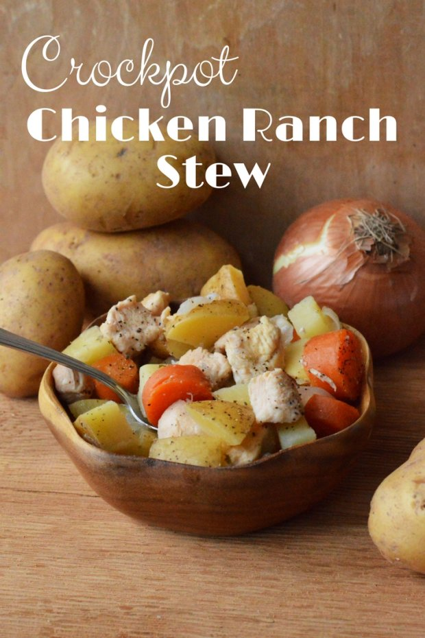 CrockPot Chicken Ranch Stew