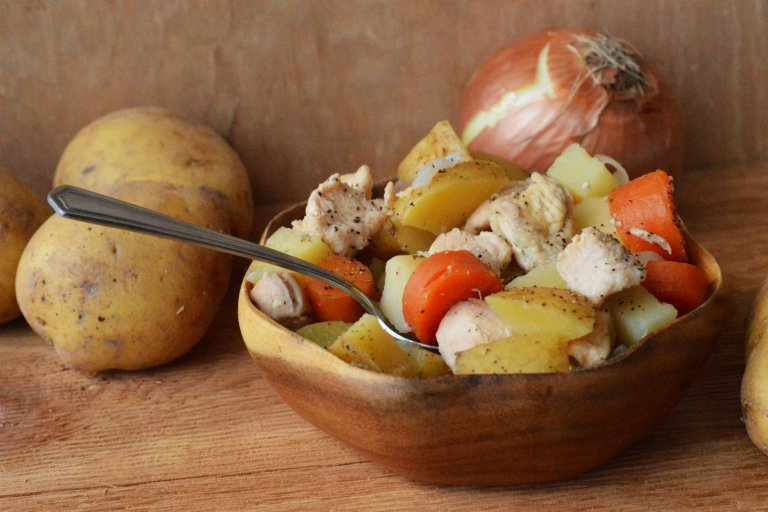 Crockpot Chicken Stew