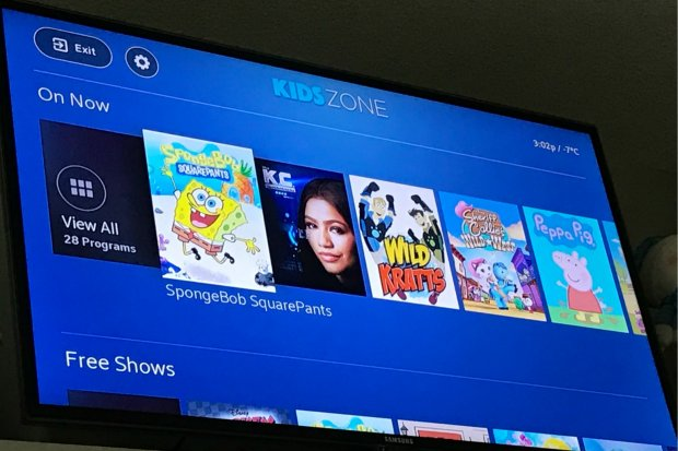 Kids zone BlueSky TV by Shaw