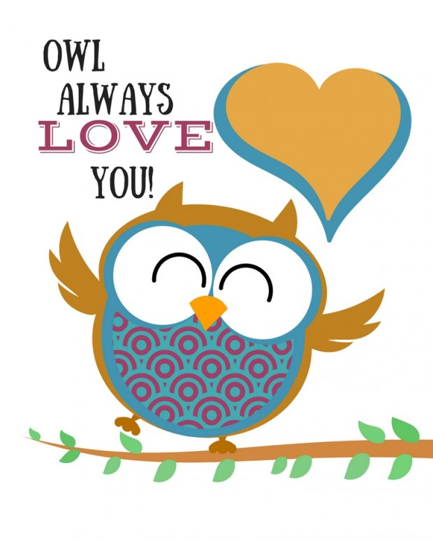 Owl Printables: Owl Always Love You to Frame - Merry About Town