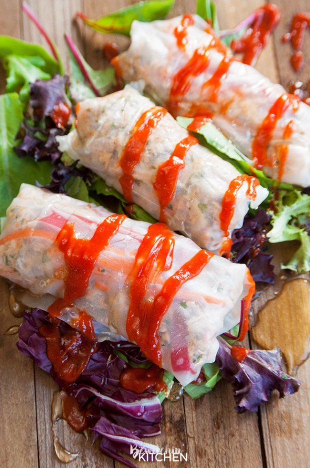 21 Day Fix Meal Plan - Chicken Rolls - Merry About Town