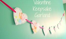 Keepsake Valentine Garland Tuturial