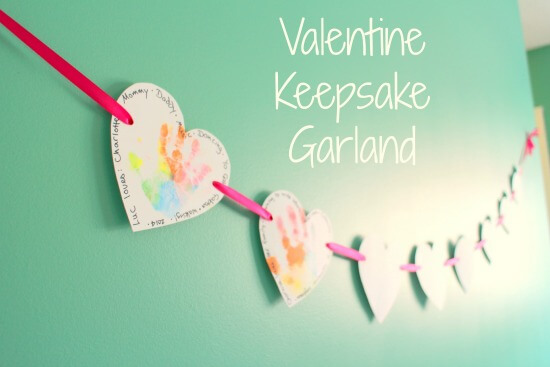 valentine garland tutorial