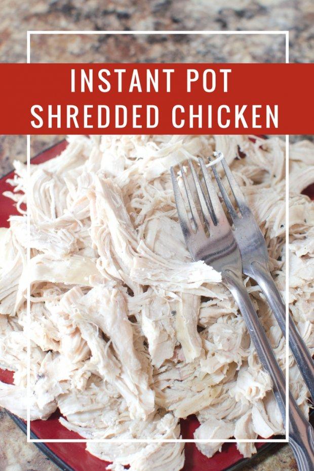 Instant Pot Shredded Chicken Tutorial