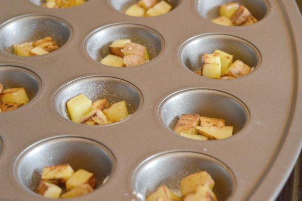 Making the Potato Bottoms